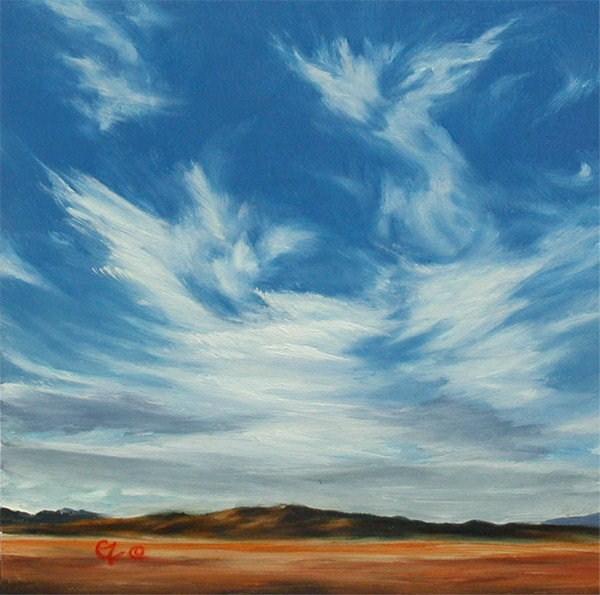 """Brisk Changes"" original fine art by Carol Zirkle"