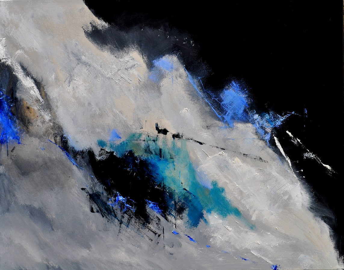 """abstract 1811802"" original fine art by Pol Ledent"