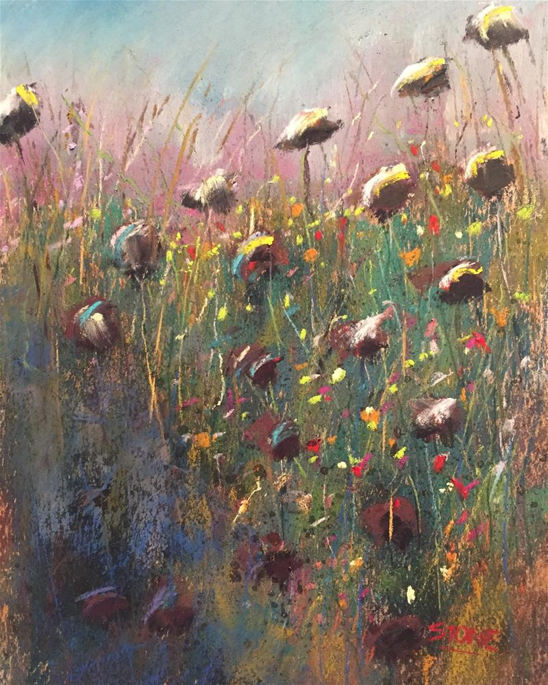 """In the Weeds"" original fine art by Greg Stone"