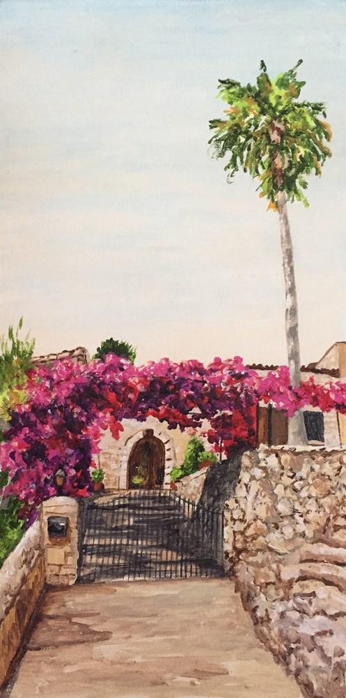 """Cami de Balix"" original fine art by Nan Johnson"