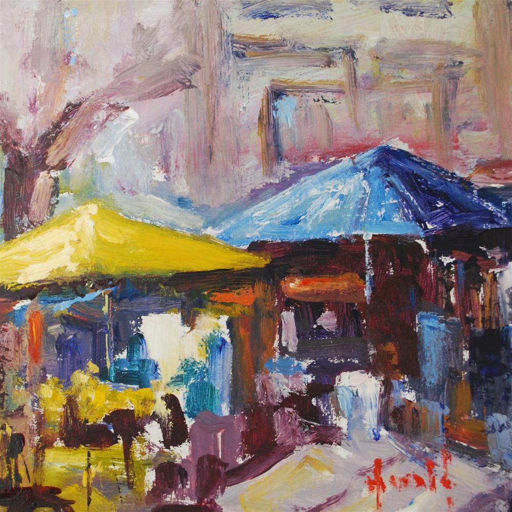 """""""Morning Jo"""" original fine art by Deborah Harold"""