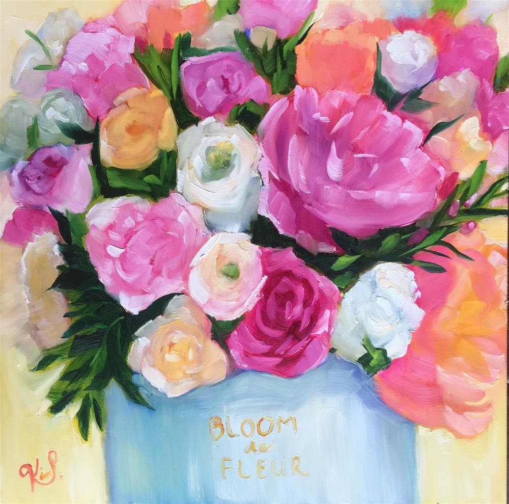 """Spring Bouquet"" original fine art by Kim Peterson"