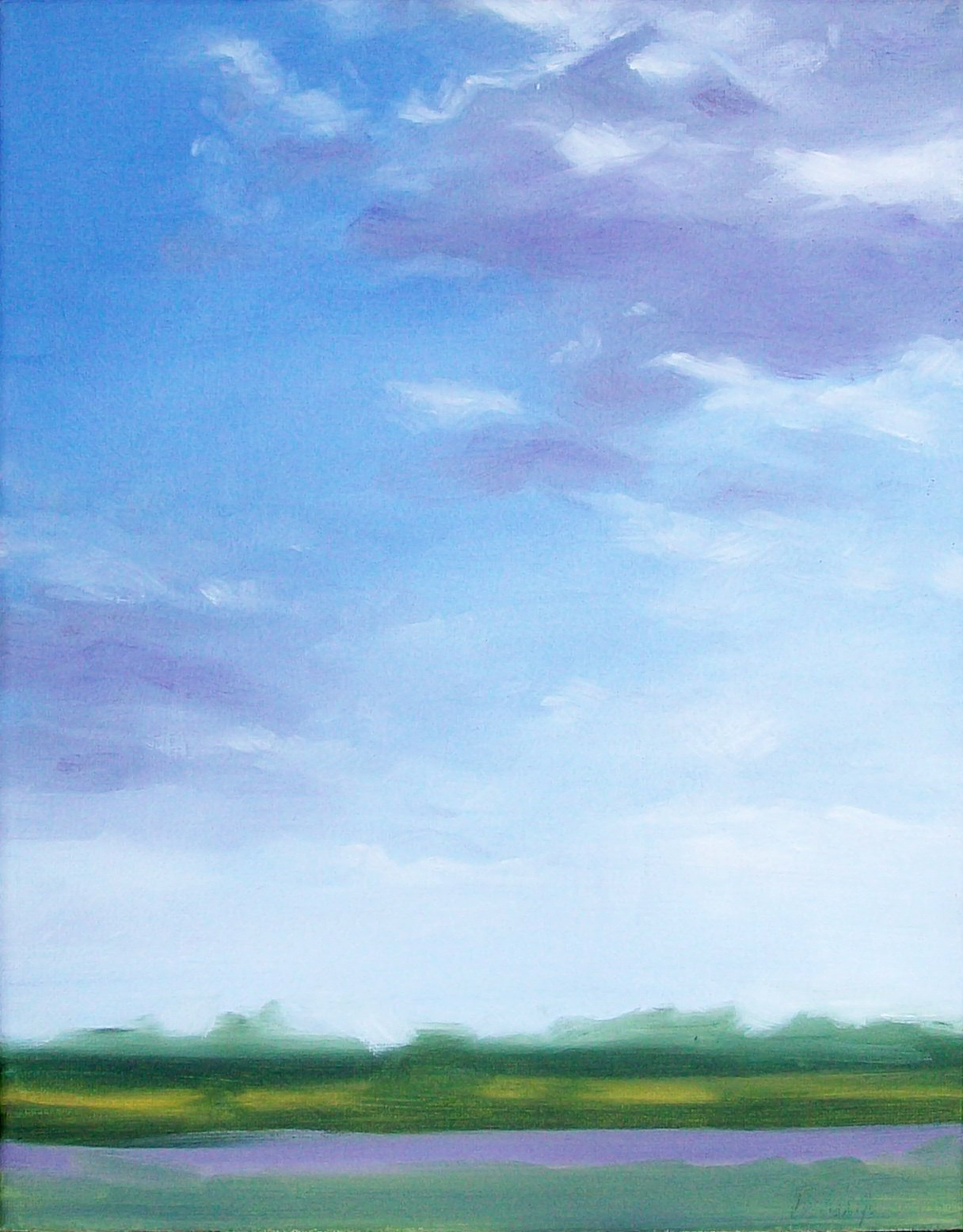 """lavender skylight"" original fine art by Brandi Bowman"