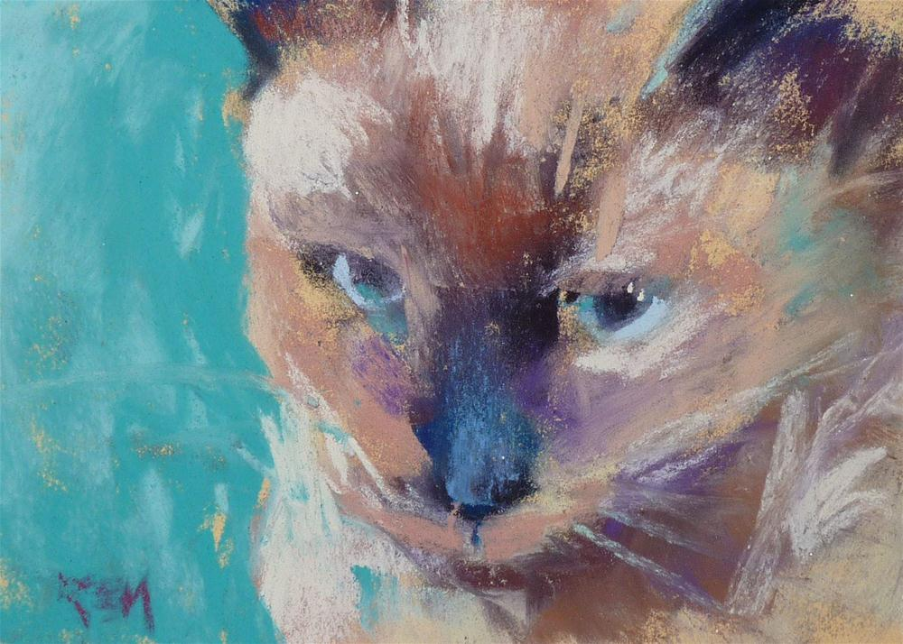 """Kitten Love"" original fine art by Karen Margulis"