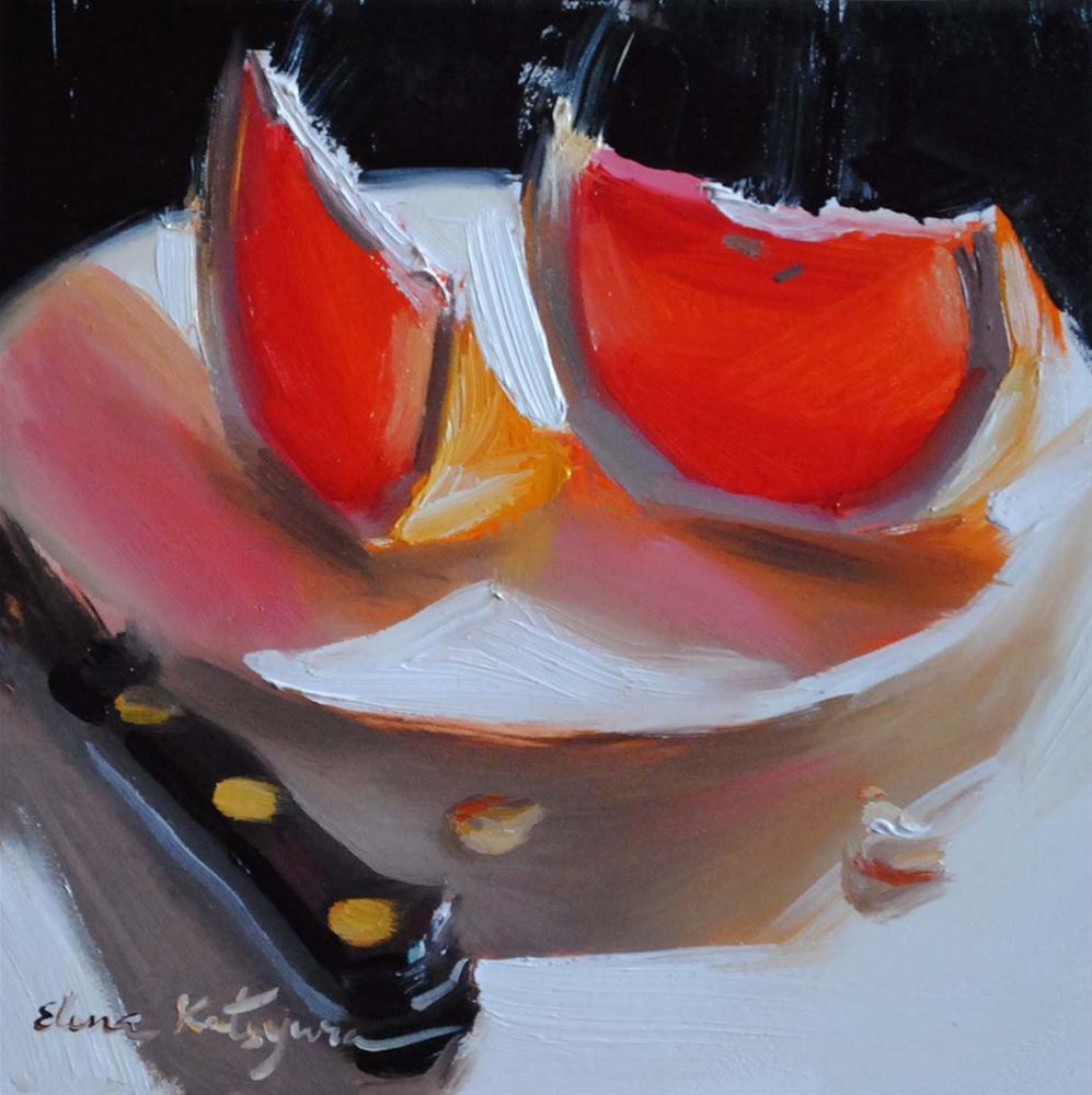 """Two Slices of Shine"" original fine art by Elena Katsyura"
