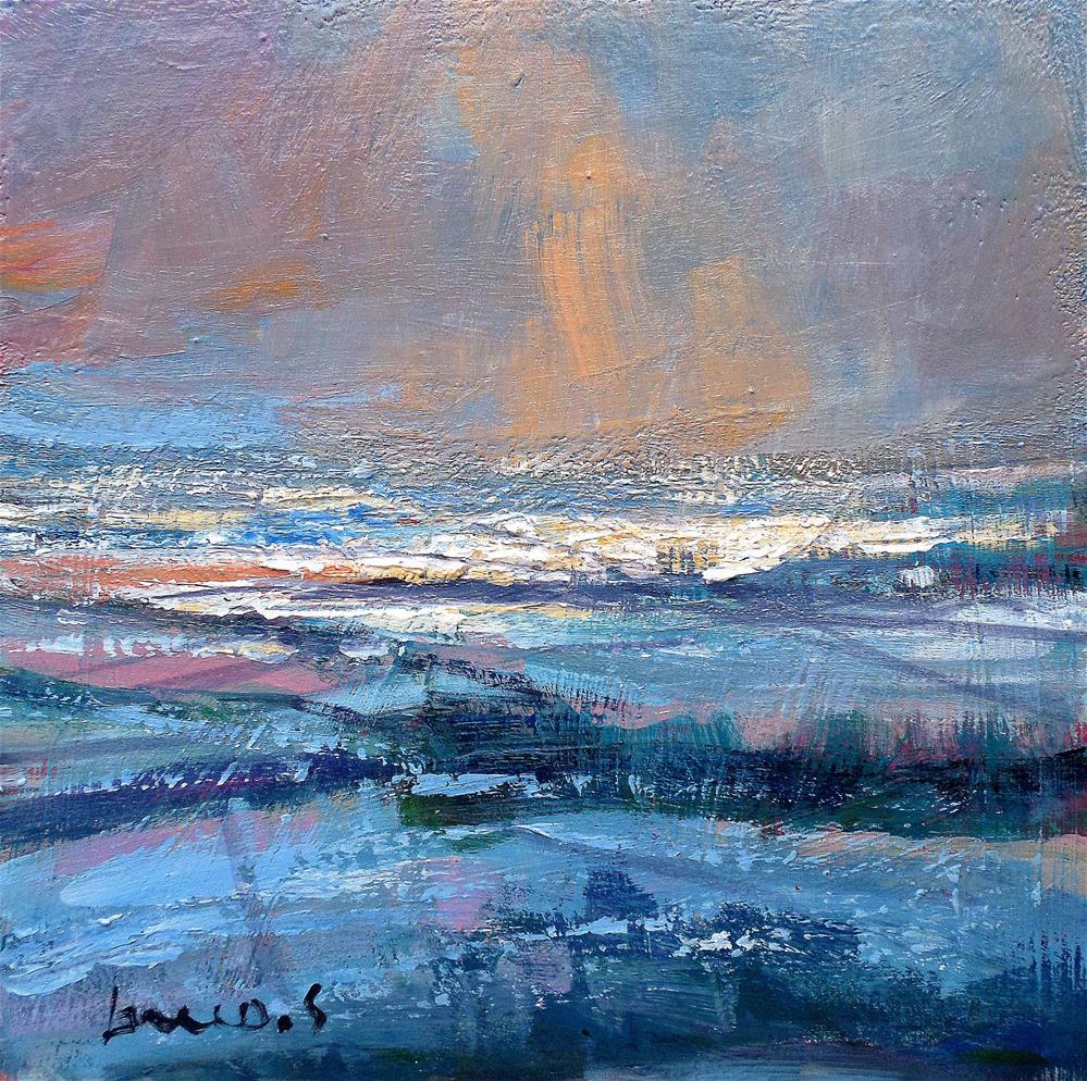 """Snowy plains"" original fine art by salvatore greco"