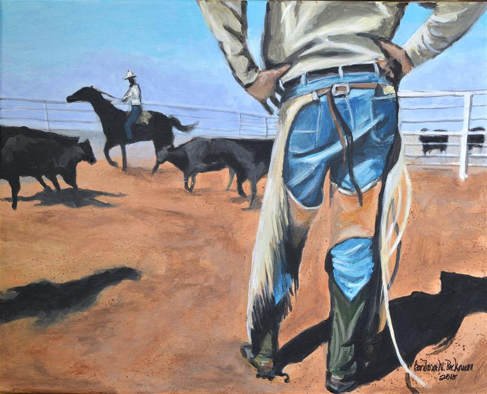 """Ranch Hand"" original fine art by Barbara Beckmann"