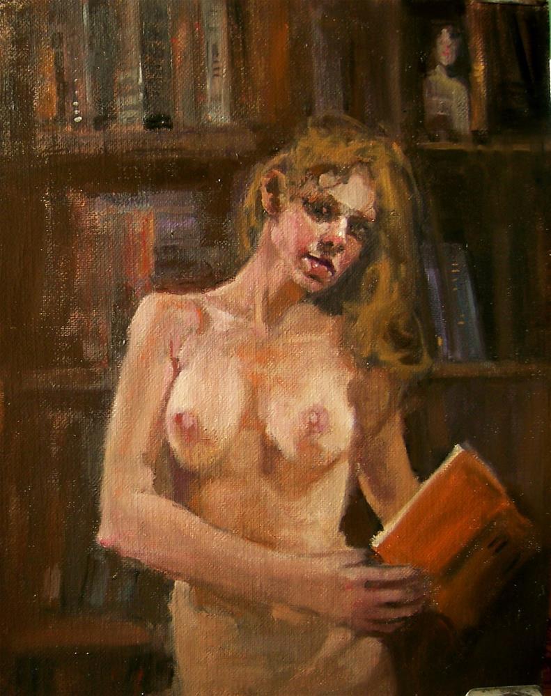 """Insomnia"" original fine art by Kim Roberti"