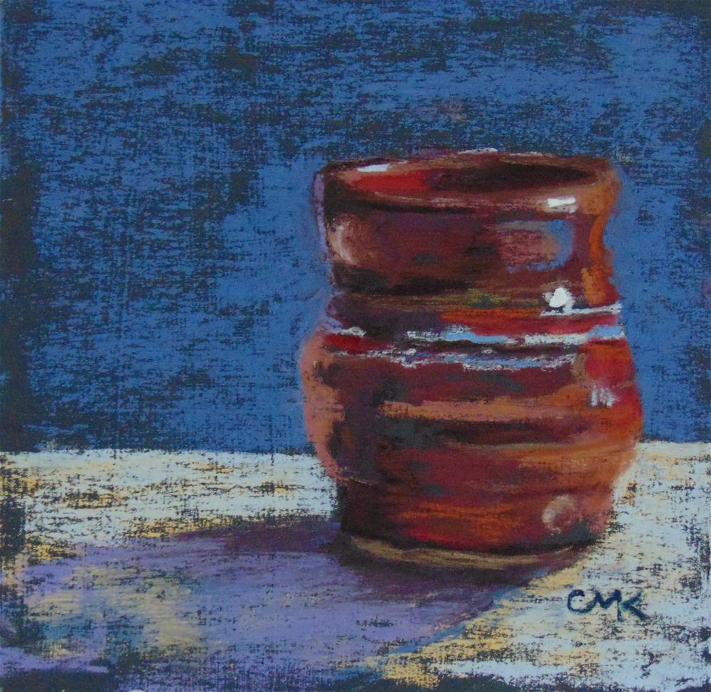 """Sake Cup"" original fine art by Catherine Kauffman"