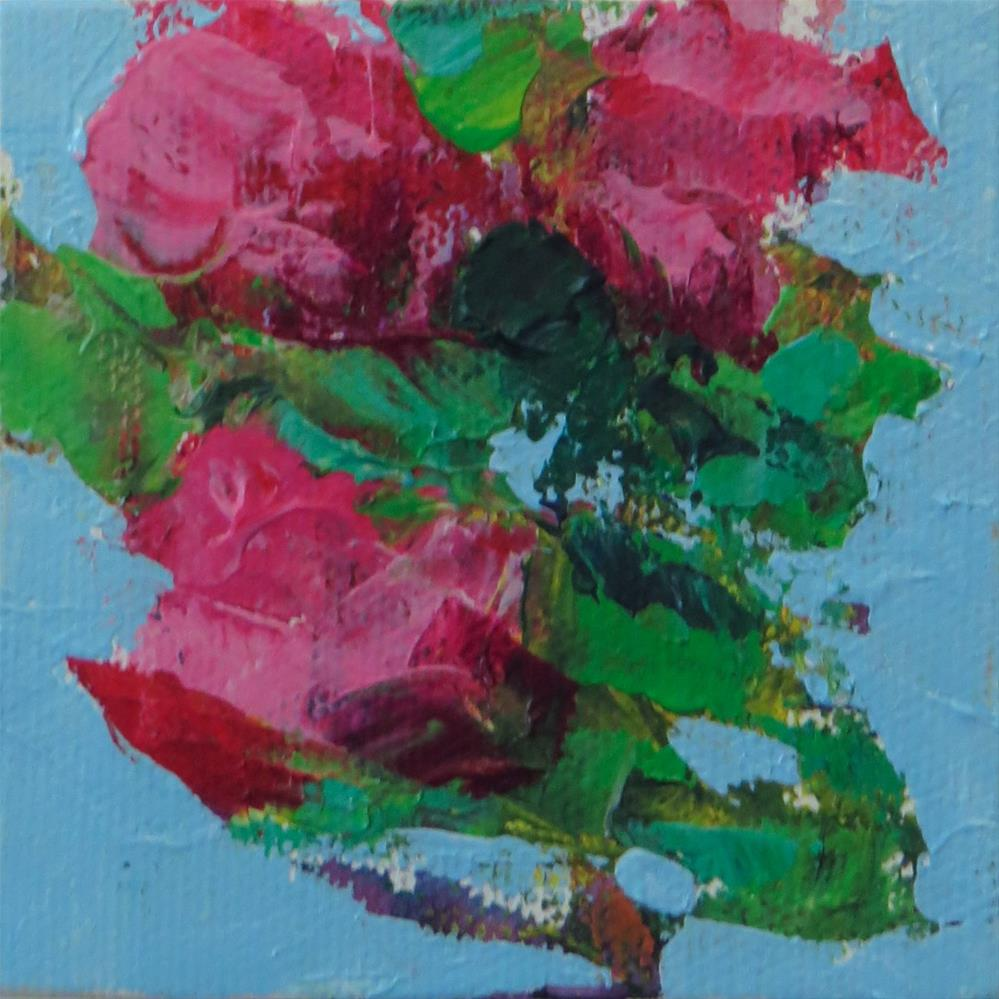 """Baby Pink"" original fine art by Marsha Savage"