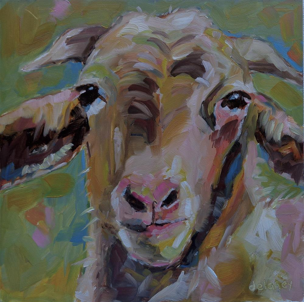 """BILLY"" original fine art by Jean Delaney"