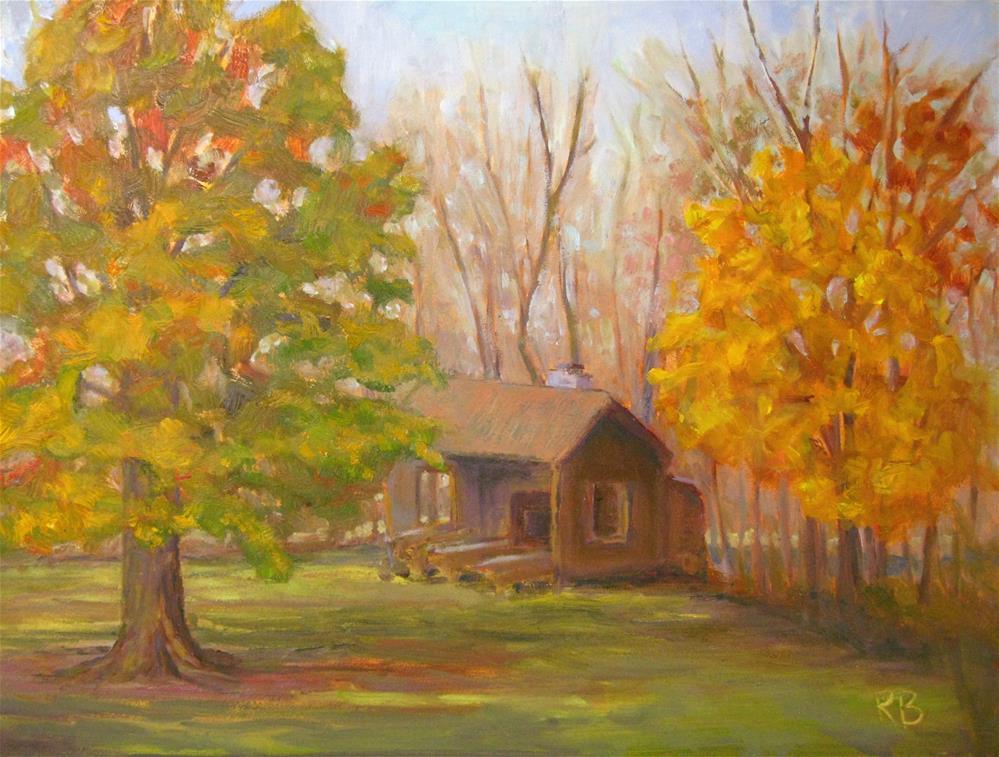 """Changing season"" original fine art by Robie Benve"