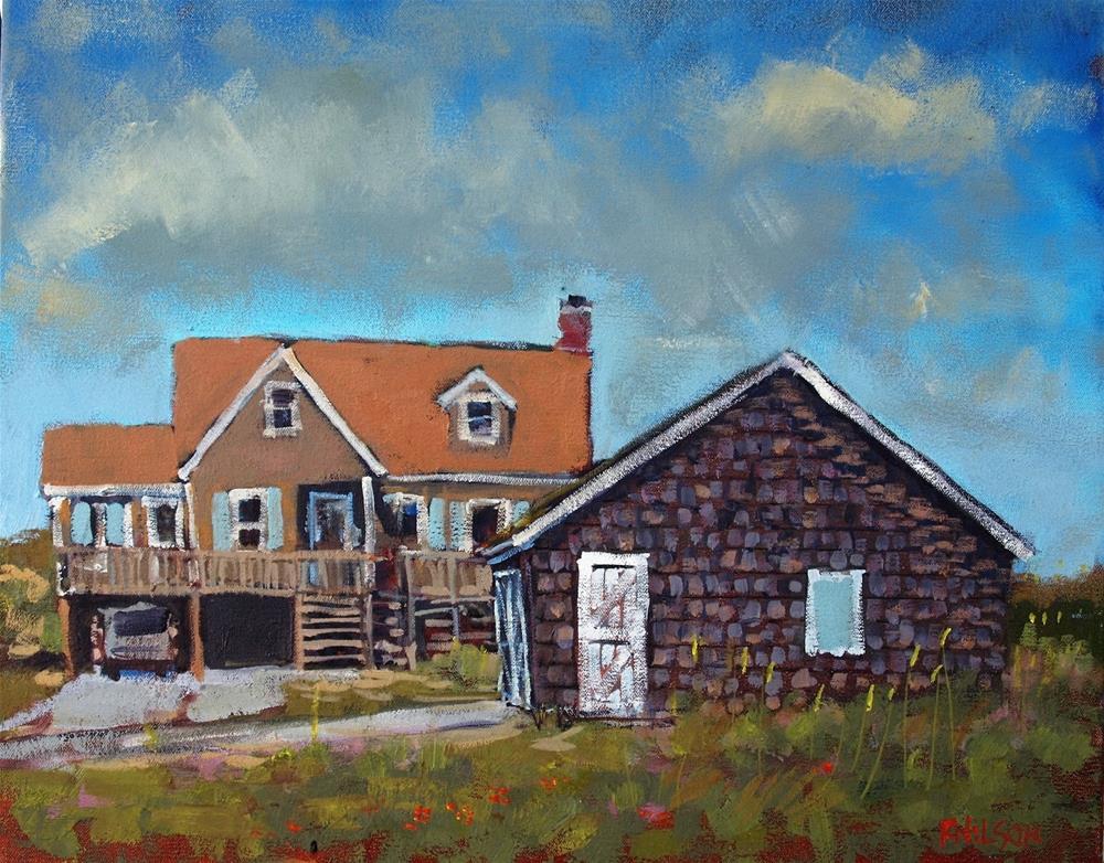 """Near and Far"" original fine art by Rick Nilson"