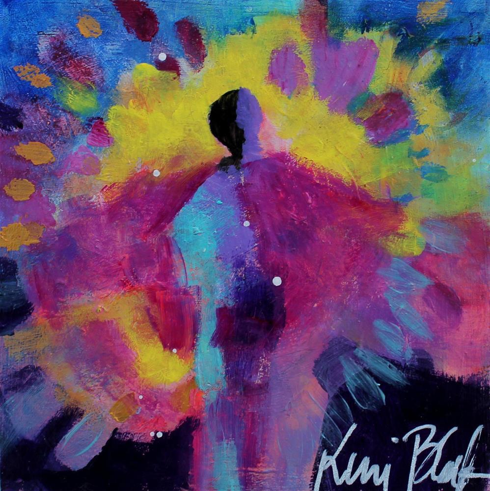 """Sudden Appearance "" original fine art by Kerri Blackman"