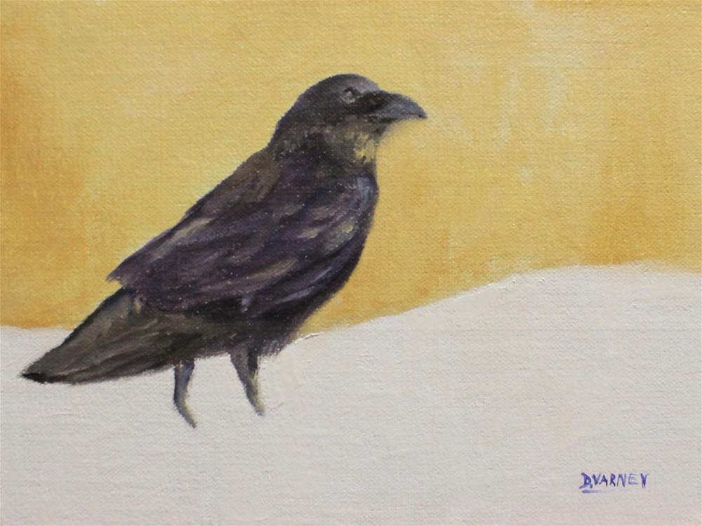"""Raven"" original fine art by Daniel Varney"