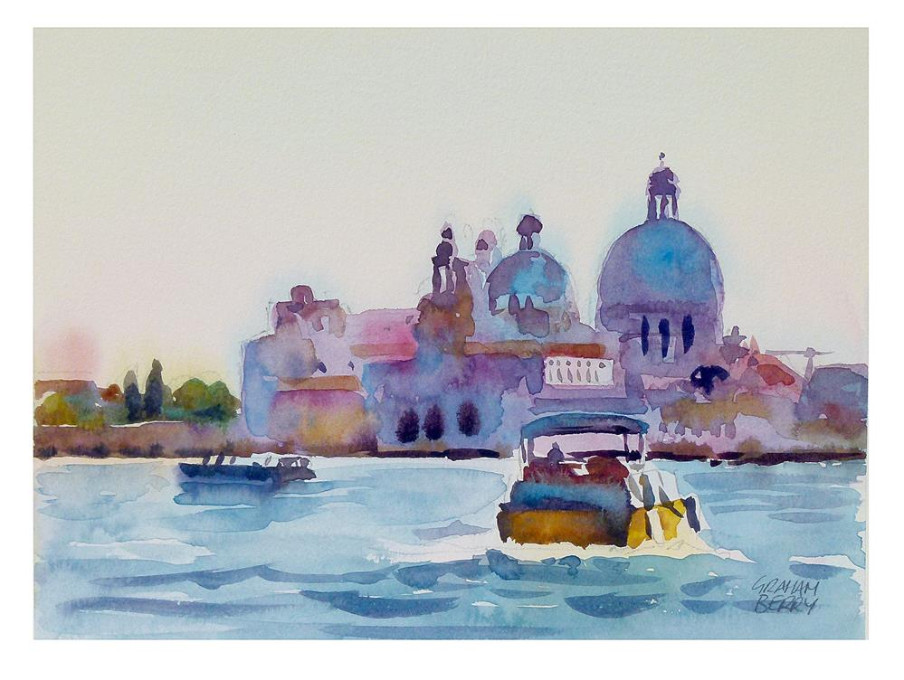 """Venice study."" original fine art by Graham Berry"