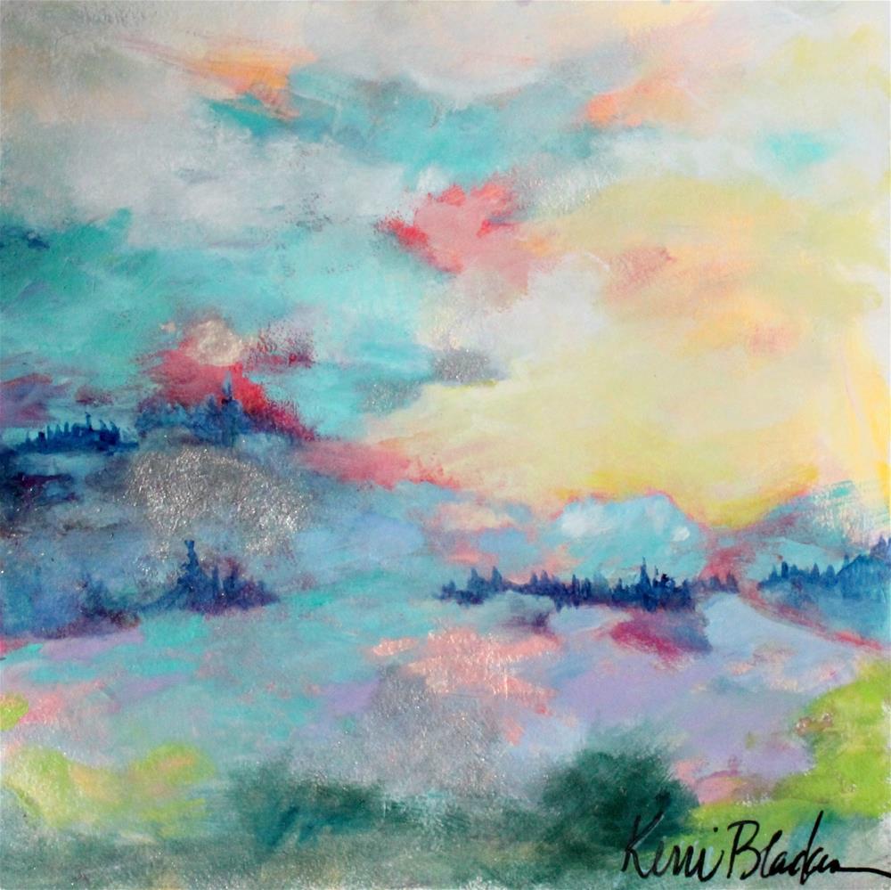 """Swept Across"" original fine art by Kerri Blackman"