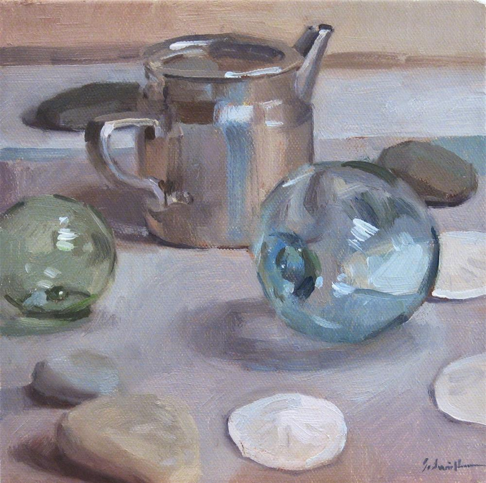 """Another Coast Still Life, and Excitement in the Mail!"" original fine art by Sarah Sedwick"