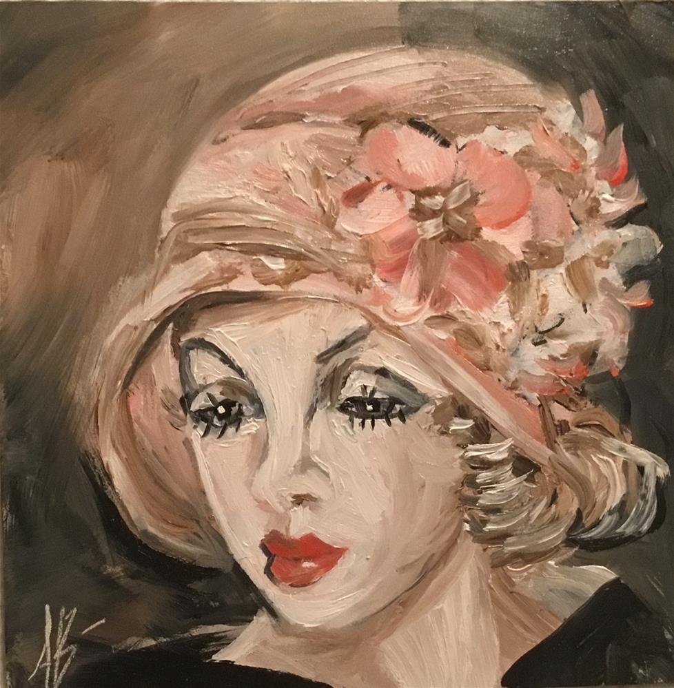 """Dolly Doll "" original fine art by Annette Balesteri"