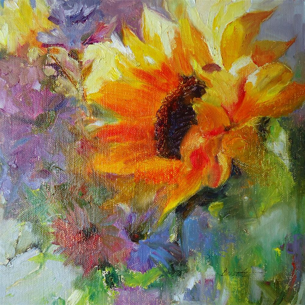 """Sunnyside Up"" original fine art by Scarlet Owl Studio"