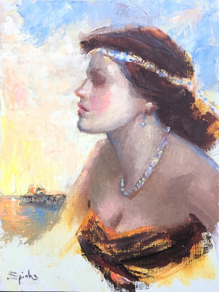"""My Serenity, Malibu Pier"" original fine art by Johanna Spinks"