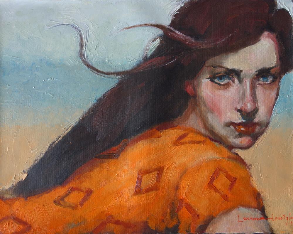 """Diamonds"" original fine art by Lorraine Lewitzka"