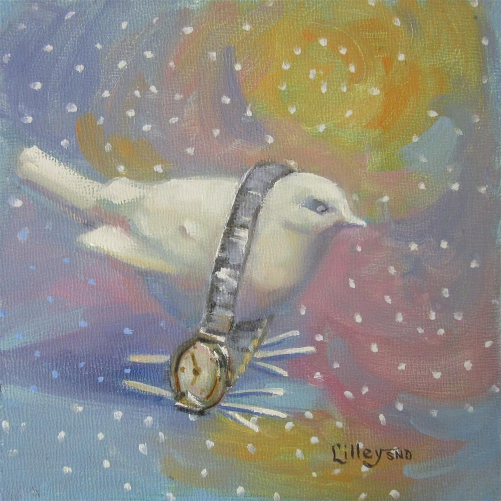 """Tempus Fugit"" original fine art by Maresa Lilley"