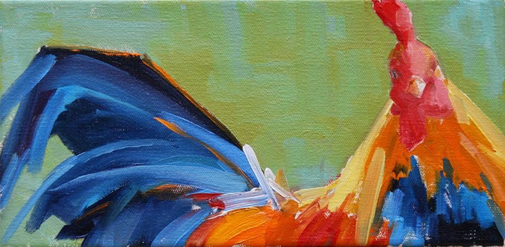 """""""part and parcel"""" original fine art by Carol Carmichael"""