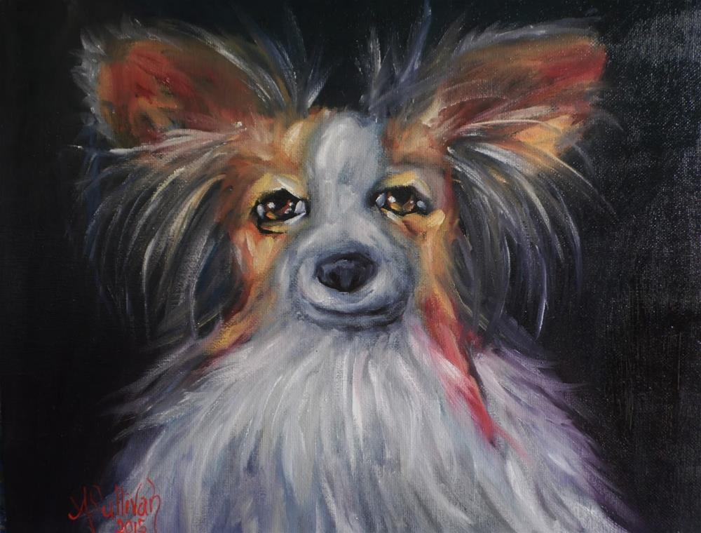 """Razzel pet portrait by Alabama Artist Angela Sullivan"" original fine art by Angela Sullivan"