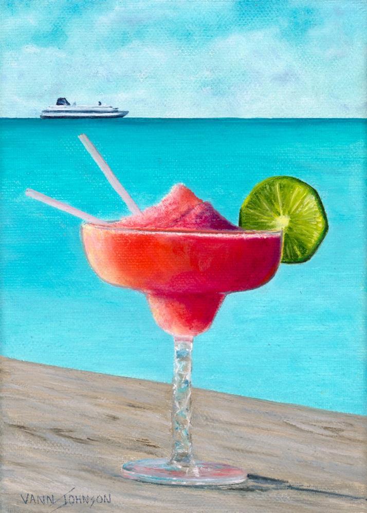 """""""Feeling So Fruitiful"""" original fine art by Wendi Vann Johnson"""
