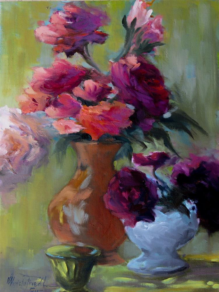"""Still Life"" original fine art by Christa Friedl"