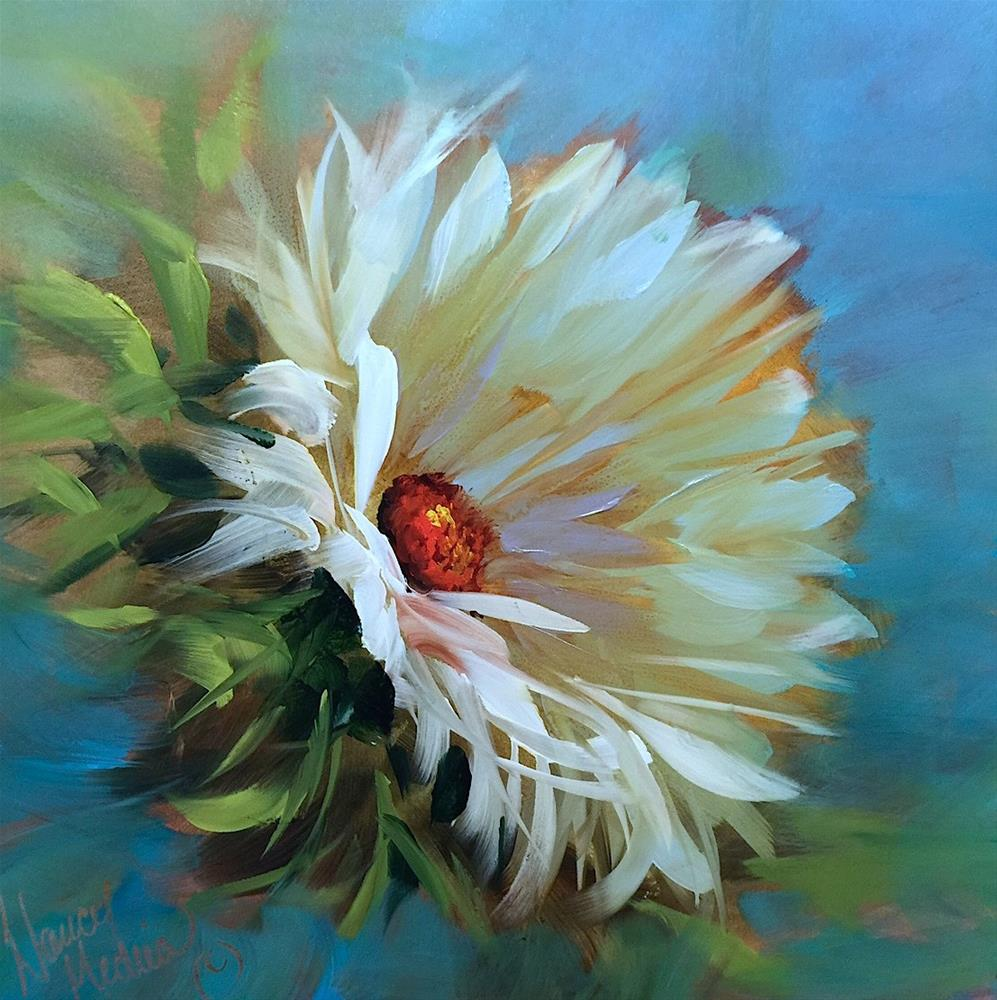 """Carpe Daisy and a Hill Country Workshop"" original fine art by Nancy Medina"