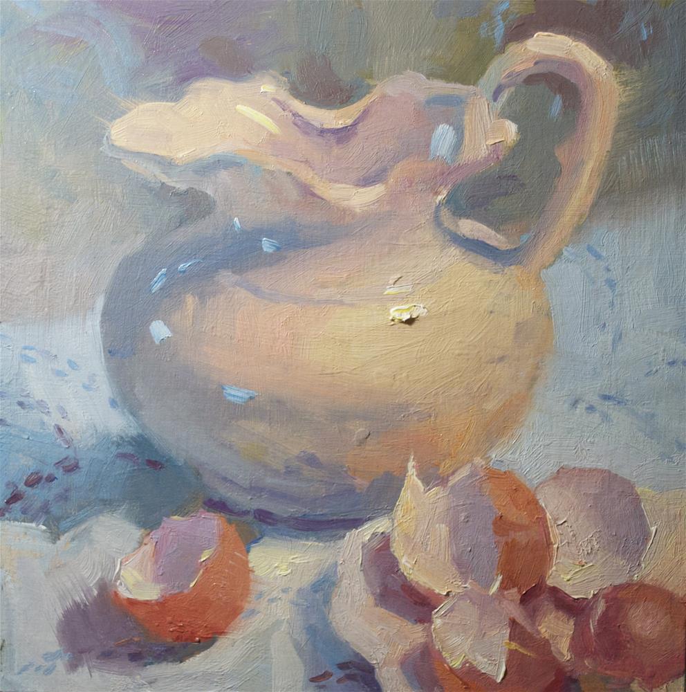 """Cooking Lesson"" original fine art by Emiliya Lane"