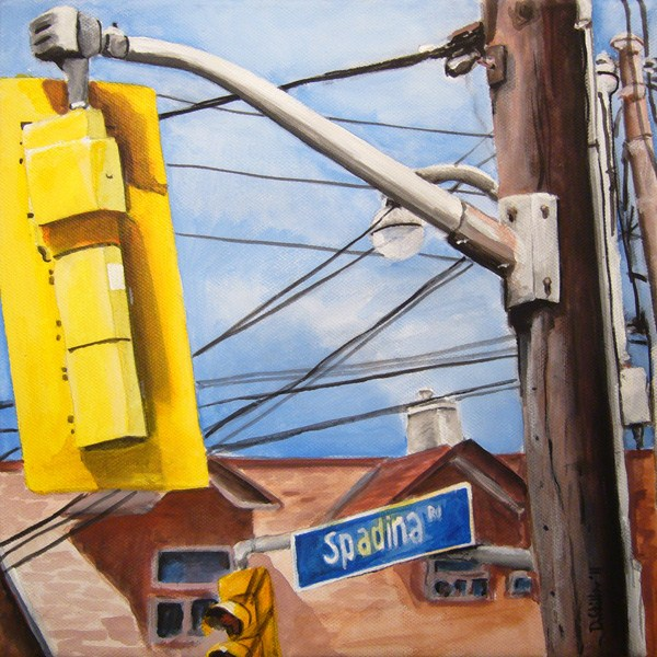 """0049 - Spadina Road"" original fine art by Dietmar Stiller"