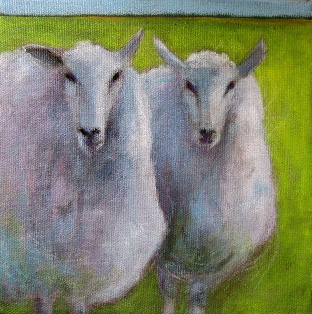 """Soul Sisters"" original fine art by Patricia MacDonald"