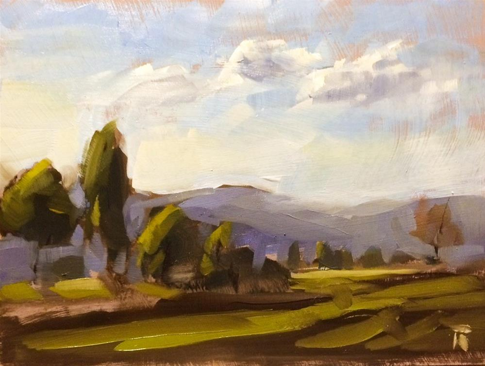 """May 6 - Pleinair Study 1"" original fine art by Thomas Ruckstuhl"