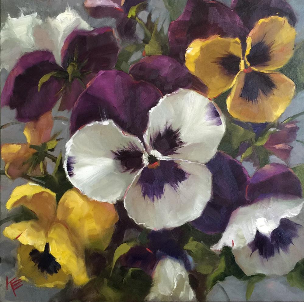 """Garden of Delight"" original fine art by Krista Eaton"
