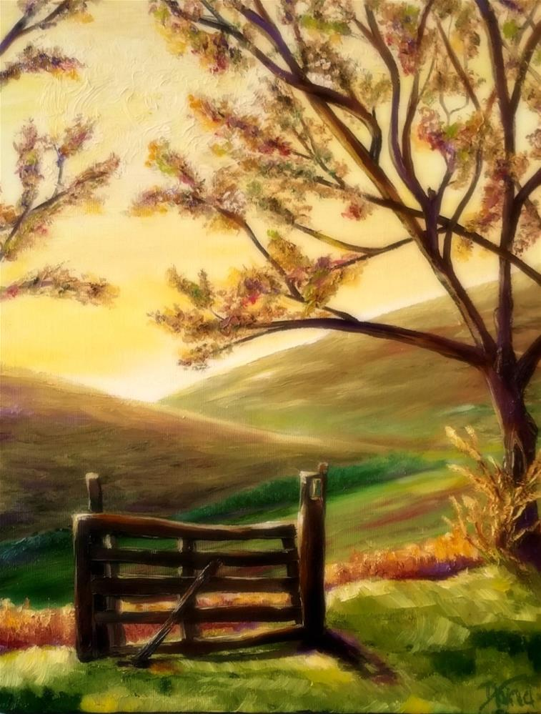 """Day Has Dawned"" original fine art by Dana C"