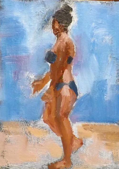 """""""WATERY DAY,U15"""" original fine art by Run-      Zhang Zane"""