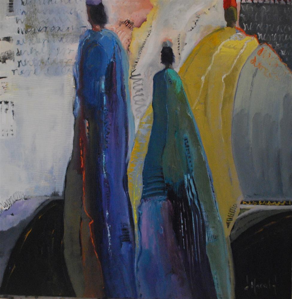 """""""Cover Girls"""" original fine art by Deborah Harold"""