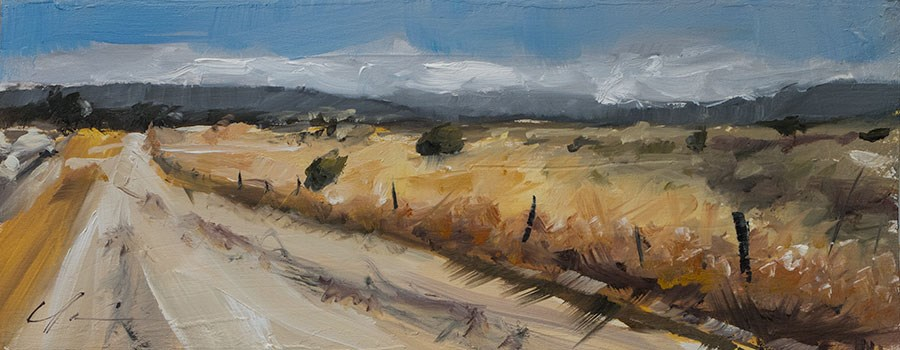 """""""Landscape Challenge #24"""" original fine art by Clair Hartmann"""
