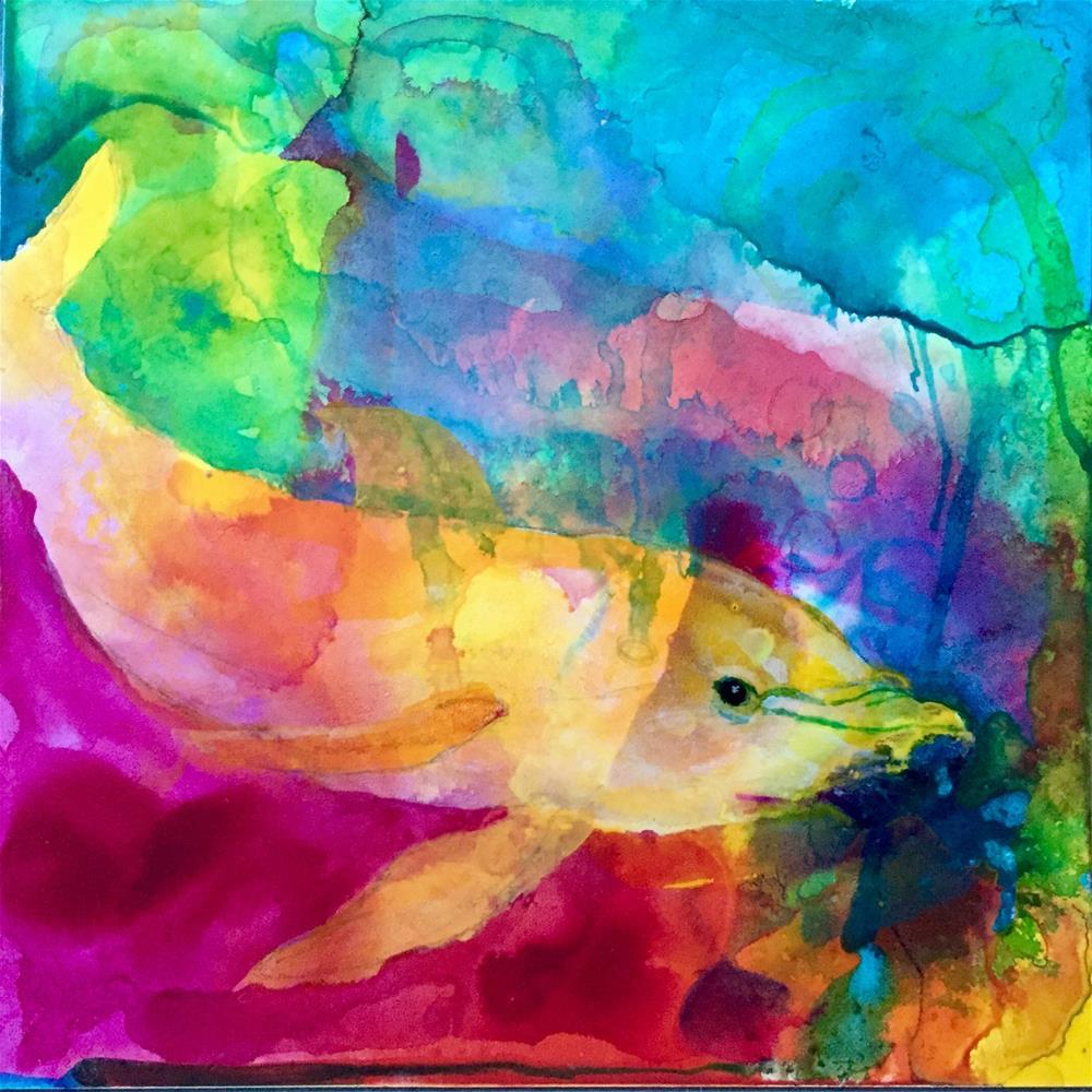 """#4 Best of Both Worlds"" original fine art by Silke Powers"