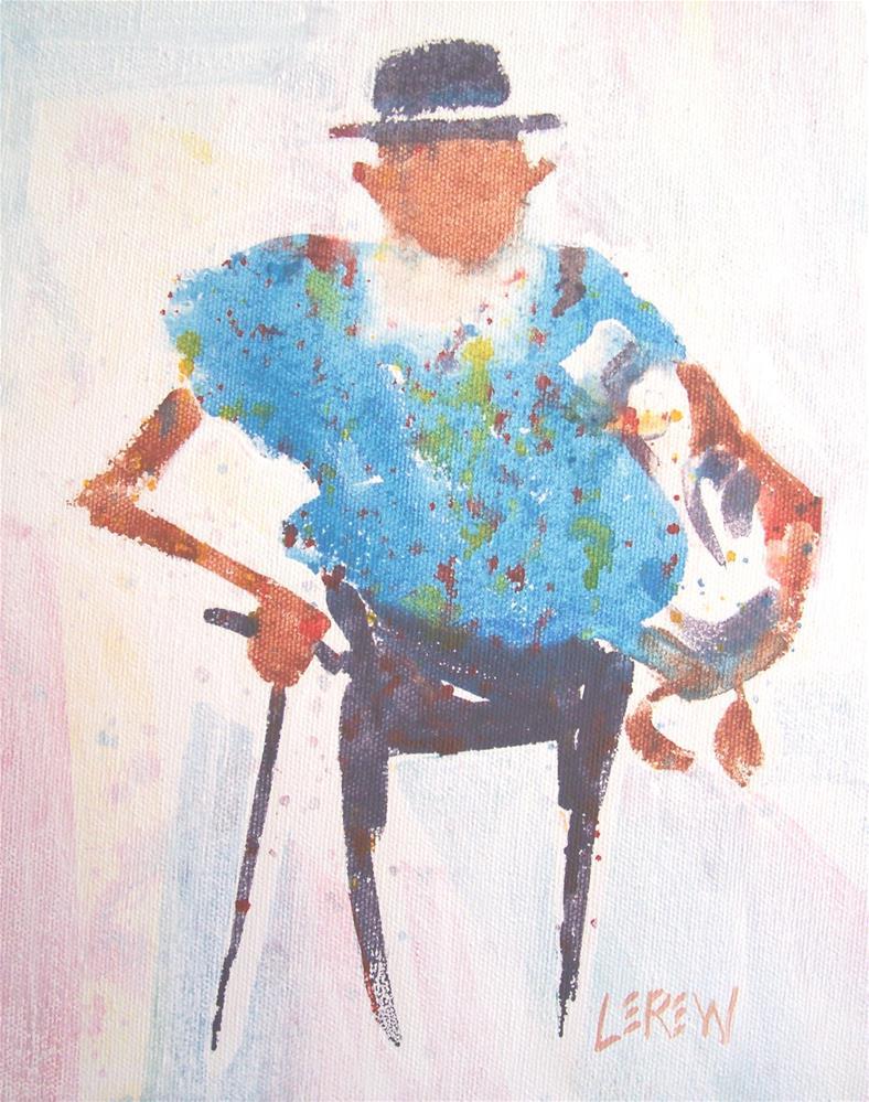 """""""Duck Tales by Larry Lerew #100842"""" original fine art by Larry Lerew"""