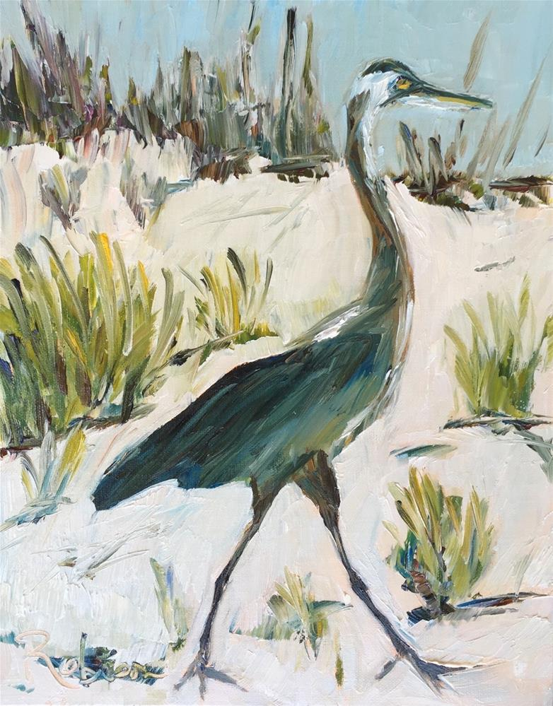 """Perdido Strut"" original fine art by Renee Robison"