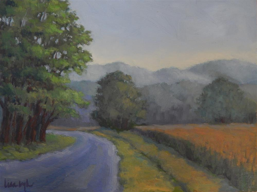 """Mists in the Mountains"" original fine art by Lisa Kyle"