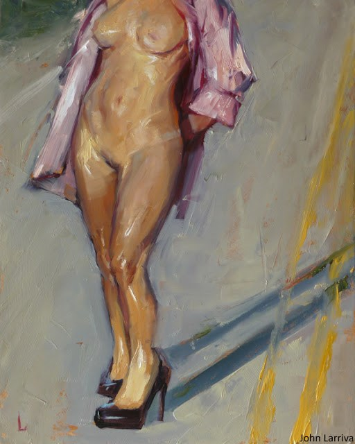 """Intersection"" original fine art by John Larriva"