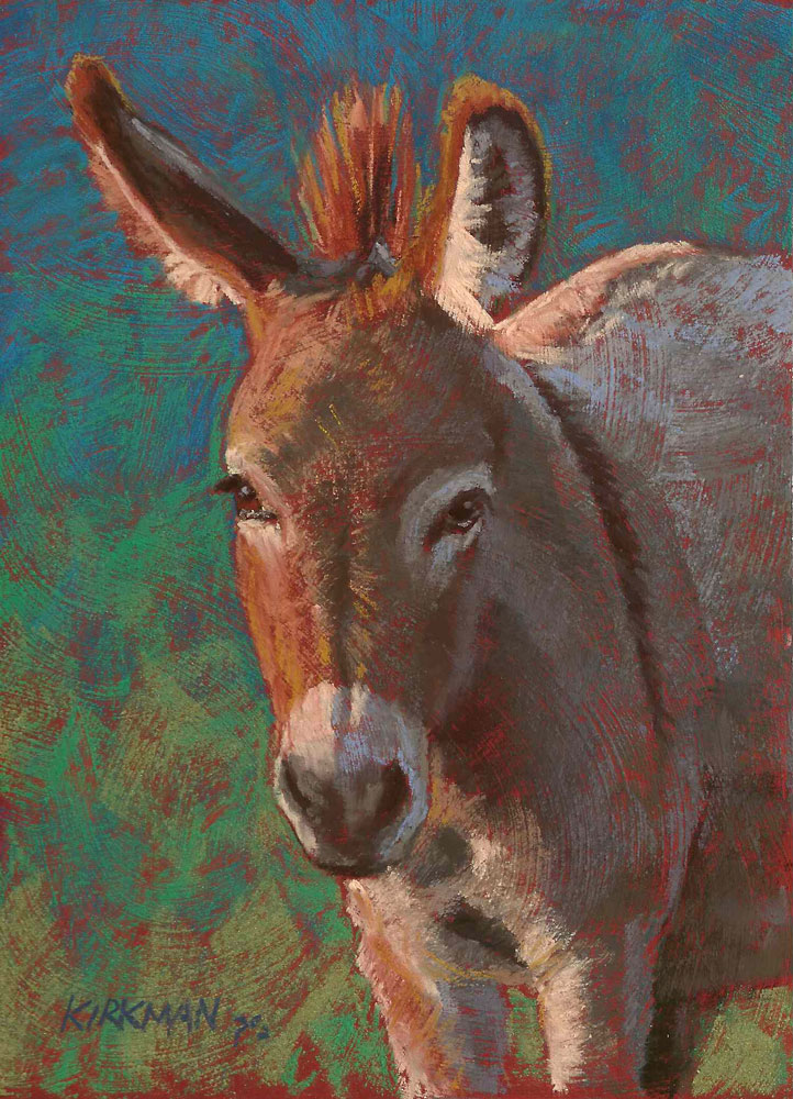 """Humphrey"" original fine art by Rita Kirkman"