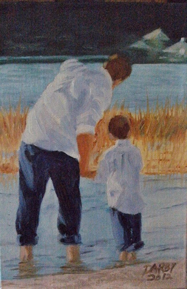 """Quality Time"" original fine art by Lynn Darby"