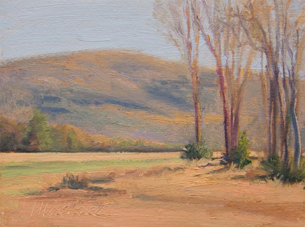 """#98 Autumn view 2"" original fine art by Nancy Wallace"