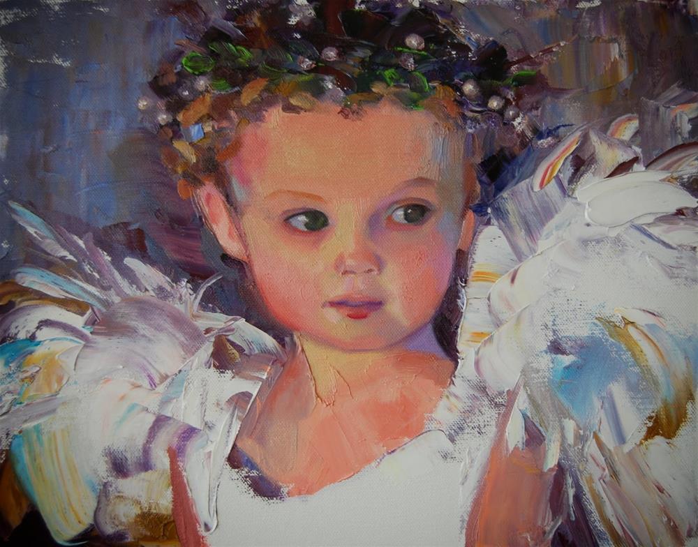 """Painting Knife Workshop"" original fine art by Ann Feldman"